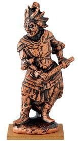 陶器の仏像 金神将 大