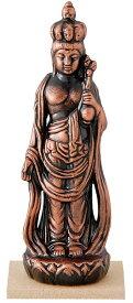 陶器の仏像 金十一面観音 小