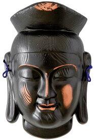 陶器の仏像 ミロク菩薩面 小