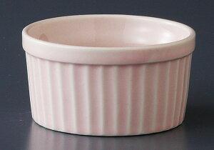 洋食器 カップ スフレ 焼き菓子/ カラースフレ(大)ピンク /オーブンOK 業務用 カフェ