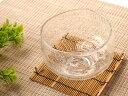 ガラスの抹茶碗 クリア