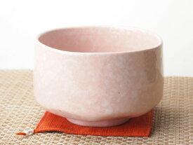 花詞白吹桃抹茶碗