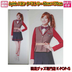 Apink タペストリー グッズ エーピンク エイピンク ハヨン 等身大 全身 60cm×170cm apht0100【 送料無料 】