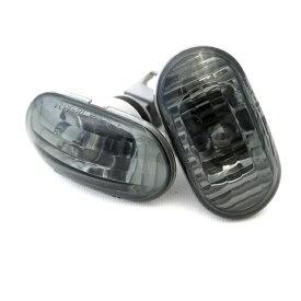 ジムニー ライト サイドウインカーランプ ライトスモーク &クロームバルブ ウエッジ球 ジムニー JB23 1-8型用