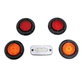 ジムニー ライト LED ランプセット S リア用 ブラック テールランプ/ブレーキランプ/バックランプ