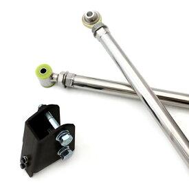 ジムニー サスペンション 調整式 ラテラルロッド ピロ&ウレタン 50mmUPブラケット フロント/リア用 JB23 JB33