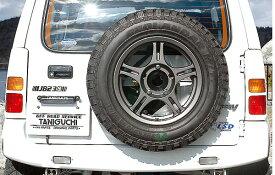 ジムニー エクステリア スペアタイヤ移動キット 表向き用 JB23 タニグチ TANIGUCHI