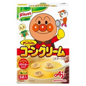 味の素 「クノール それいけ!アンパンマンスープ」コーンクリーム(3袋入) 58.5g×48袋