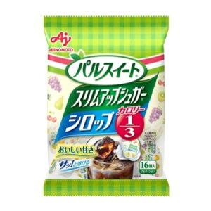 味の素 「パルスイートスリムアップシュガー」シロップ ポーション16個入袋 112g×20袋