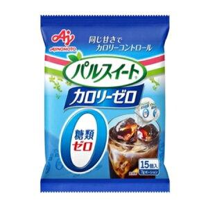 味の素 「パルスイート カロリーゼロ」(液体タイプ)ポーション15個入袋 105g×20袋