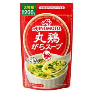 味の素 「丸鶏がらスープ」袋 200g×28袋