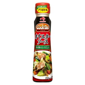 味の素 「Cook Do」(中華醤調味料)オイスターソース  プラボトル 200g×40個