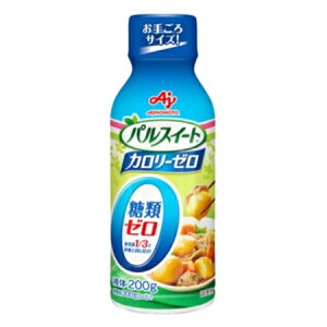 味の素 「パルスイート カロリーゼロ」(液体タイプ)ボトル 200g×40袋
