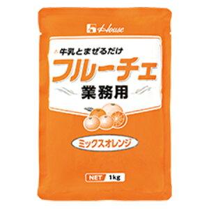 ハウス食品 業務用 業務用フルーチェ<ミックスオレンジ> 1Kg×6個