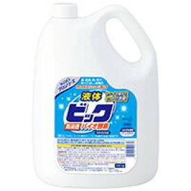 花王 液体ビック酵素配合 4.5L×1本 業務用 洗濯洗剤