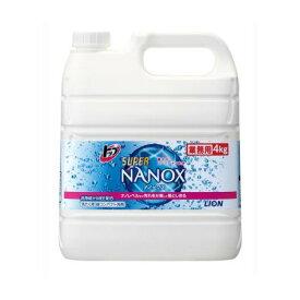 ライオン トップ スーパーNANOX-ナノックス- 4kg 業務用