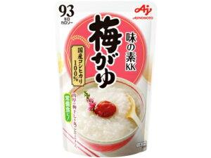 味の素 梅がゆ 250g 9袋×3箱 合計27袋入 93キロカロリー 国産精米