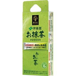 伊藤園 おーいお茶 お抹茶 パウダー(粉末) 機能性表示食品 スティック 1.7g×6本入×18箱