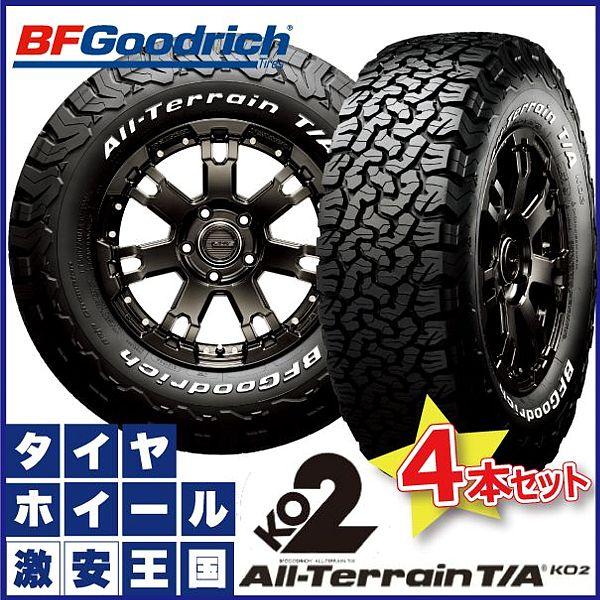 【4本セット】 BF Goodrich All-Terrain T/A KO2 LT285/70R17 121/118R LRE RWL bfグッドリッチ オールテレーン 285/70-17 ホワイトレター サマータイヤ