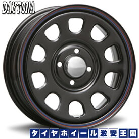 【送料無料】 155/65R14 グッドイヤー GT エコステージ デイトナ's ブラック 5.0J-14インチ 軽自動車用 サマータイヤ ホイール4本セット