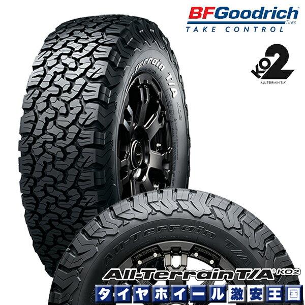 【4本セット】 BF Goodrich All-Terrain T/A KO2 LT325/60R20 126/123S LRE RBL bfグッドリッチ オールテレーン 325/60-20 ブラックレター 20インチ サマータイヤ 単品