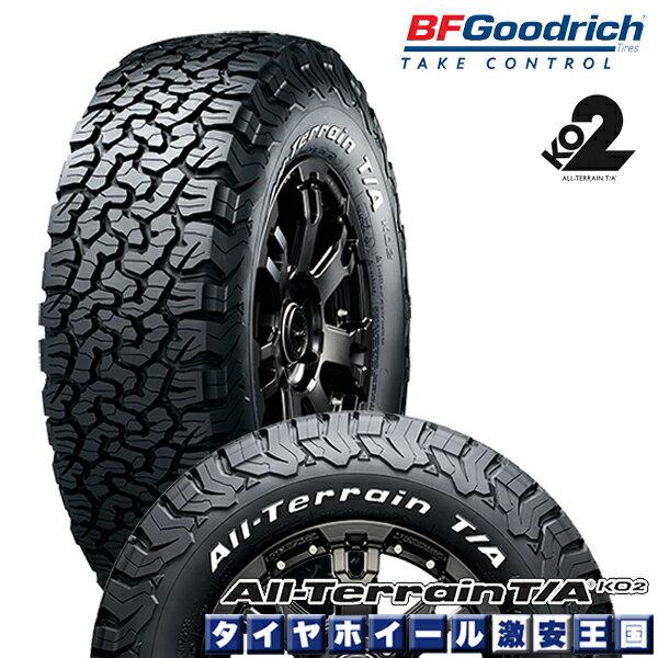 BF Goodrich All-Terrain T/A KO2 LT265/70R17 121/118S LRE RWL bfグッドリッチ オールテレーン 265/70-17 ホワイトレター 17インチ サマータイヤ