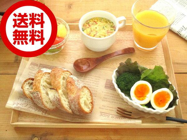 【送料無料】ウッドトレーM 32cm/木製/お盆/カフェトレー/長方形/おしゃれ/cafe/warm/トレイ/ウッドバーニング