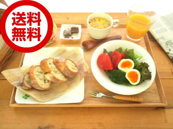 【送料無料】ウッドトレーL 41cm/木製/お盆/カフェトレー/長方形/おしゃれ/cafe/warms/トレイ/ウッドバーニング