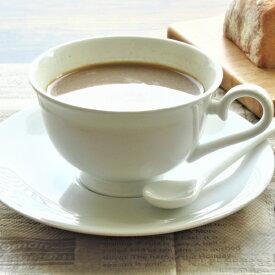 コーヒーカップ and ソーサー 200cc アウトレット込 ティーカップ 白い食器 カフェ ポーセリンアーツ 日本製 陶器 美濃焼 磁器 アウトレット 業務用にも