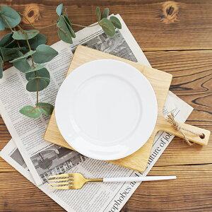 白い食器 17cm リム プレート 小皿 アウトレット 日本製 美濃焼 丸皿 ショートケーキ皿 カフェ食器 おしゃれ 洋食器 ホテル食器