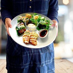 超特大皿 32.7cm アウトレット 日本製 美濃焼 陶器 食器 洋食器 白磁 大皿 ピザ皿 ピザプレート パーティ皿 オードブルプレート 大きなお皿 大きい カフェ風 おしゃれ シンプル 業務用にも 30cm