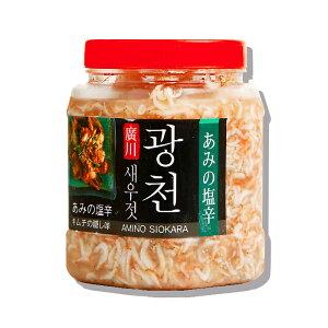 【ベトナム産】アミの塩辛 5kg「PET」★えび /調味料 /キムチ /韓国料理 /韓国食品【小エビと食塩だけで作られたアミの塩辛】