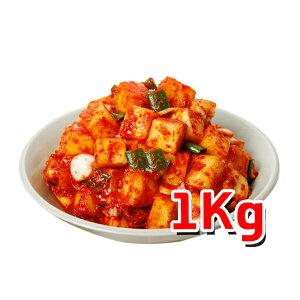 韓サイ 手作り カクテキ 1kg ★韓国食品★韓国料理/韓国食材/韓国キムチ/キムチ/おかず/漬物/ポギキムチ/大根キムチ