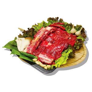 【開き】牛骨付きカルビ 1kg ★お肉 /牛肉 /焼肉 /カルビ /骨付きカルビ /バーベキュー /BBQ /冷凍食材 /韓国食品【柔らかい、ジュージな特上骨付きカルビ】