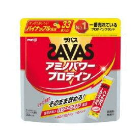 送料無料 明治 ザバス アミノパワープロテイン パイナップル風味 (4.2g×33本入り)