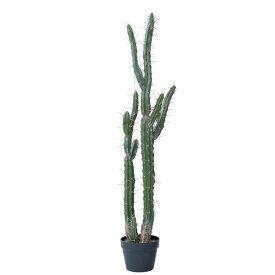 人工観葉植物 柱サボテンポット118(1個) bb220 サボテン (代引き不可) インテリアグリーン 造花 POT CACTUS