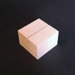 木のカード立てメープル角(木・木製カード立て)