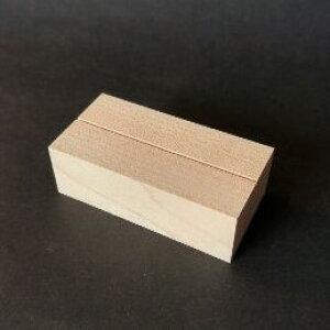 木のカード立てメープル角長(木・木製カード立て)