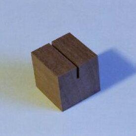 ミニキューブスタンド(木・木製カード立て)