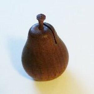 フルーツカードスタンド 洋なしS(BR)(木・木製カード立て)