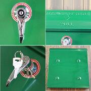 ポスト壁掛けおしゃれメールボックス020レトロ郵便ポスト鍵付きアメリカンヴィンテージ大型レトロポストmailbox