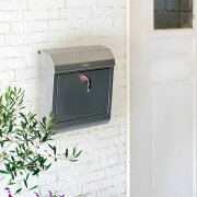 壁掛けポスト郵便おしゃれアメリカン鍵付き人気