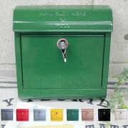 210929ポスト壁掛け郵便ポストおしゃれなメールボックスアメリカンビンテージレトロ