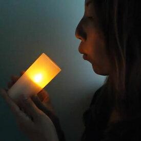 LEDキャンドルライト 028 直径4.5 高さ10cm おしゃれ キャンドルライト パーティ キャンプ ランタン キャンドルランプ 寝室 リビング 間接照明 電池式