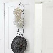 [ハンガーリングおしゃれ]ドアに引っ掛けるおしゃれなジョイントハンガー!バッグ帽子引っ掛けドアハンガー扉用ハンガーフックS字生活雑貨【K-Style】ドアに収納!ジョイントハンガー046