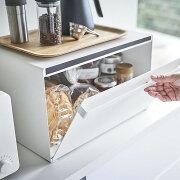 【クーポン配布中】ブレッドケース食パン調味料入れタワー収納キッチン北欧マグネット収納ケースtowerストッカー便利キッチンカウンター目隠しボックス【K-Style】ブレッドケースBOX079