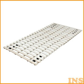 【エントリーでP5倍】≪送料無料≫2つ折布団干し桐すのこベッド KSB-100A アイリスオーヤマ