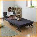 ベッド 折りたたみベッド シングル OTB-KR アイリスオーヤマ送料無料 寝室 寝具 コンパクト 折りたたみ 一人暮らし 折…