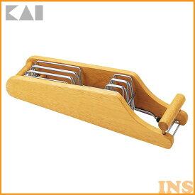 貝印 MY FAVORATE 木製包丁スタンド AP0520【D】