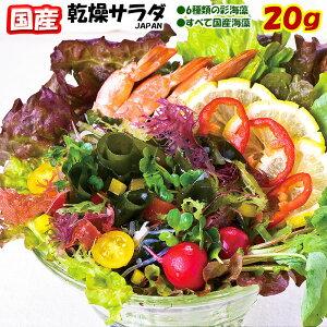 海藻サラダJAPAN20g/1袋までならメール便対応可能【 海草 サラダ 】【国産】/贅沢配合